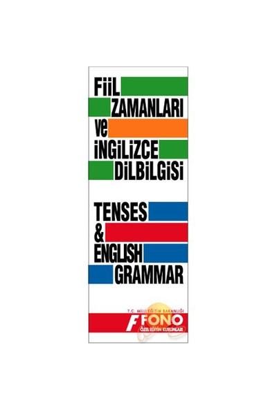 Fono İngilizce Fiil Zamanları ve Dilbilgisi Tablosu