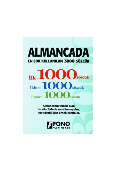 Almacada En Çok Kullanılan 3000 Sözcük