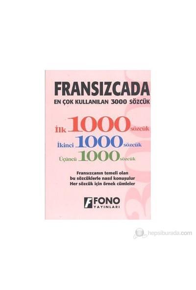 Fransızcada En Çok Kullanılan 3000 Sözcük-Kolektif