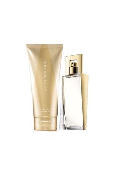 Avon Attraction Edp 50 Ml Kadın Parfüm + 150 Ml Vücut Losyonu Set