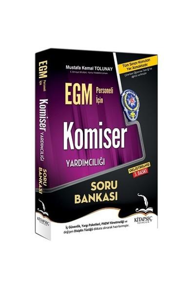 Kitapseç 2016 Egm Rütbe Terfi Ve Komiser Yardımcılığı Soru Bankası-Mustafa Kemal Tolunay