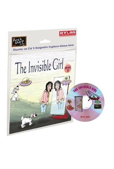 First Step – The Invisible Girl - Grade - 3 Çarklı + VCD'li İlköğretim İngilizce Hikaye Kitabı