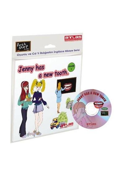 First Step – Jenny Has a New Tooth - Grade - 1 Çarklı + VCD'li İlköğretim İngilizce Hikaye Kitabı