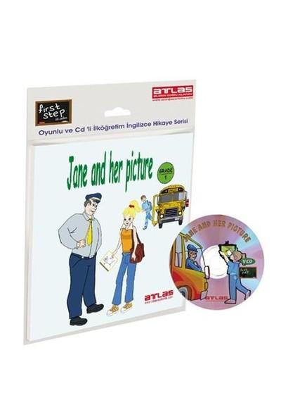First Step – Jane and her Picture - Grade - 1 Çarklı + VCD'li İlköğretim İngilizce Hikaye Kitabı