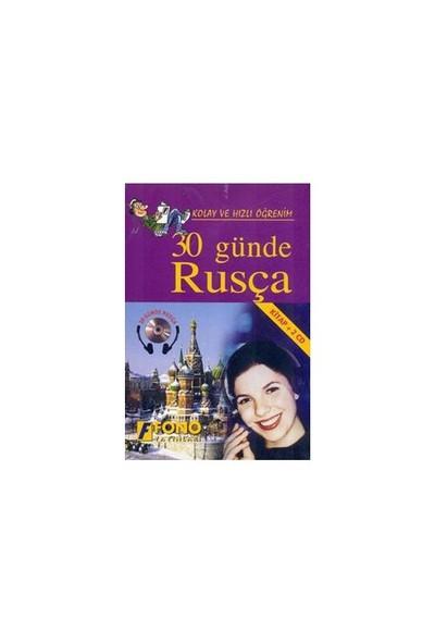Fono 30 Günde Rusça (kitap + 2 Cd) - Mehmet Aslan