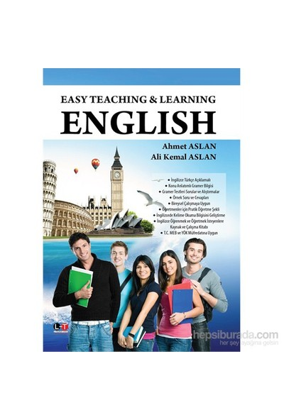 Easy Teachıng & Learnıng - Englısh-Ali Kemal Aslan