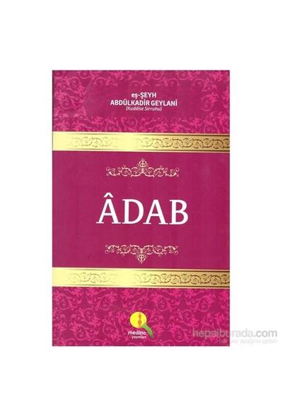Adab-Abdülkadir Geylani