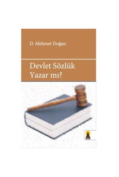 Devlet Sözlük Yazar Mı?
