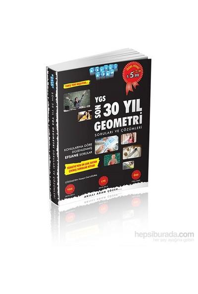 Akıllı Adam Son 30 Yıl Ygs Geometri Soruları Ve Çözümleri-Kolektif