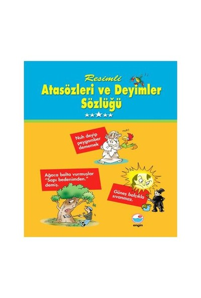 Engin Yayınları Resimli Atasözleri Ve Deyimler Sözlüğü - Mehmet Hengirmen