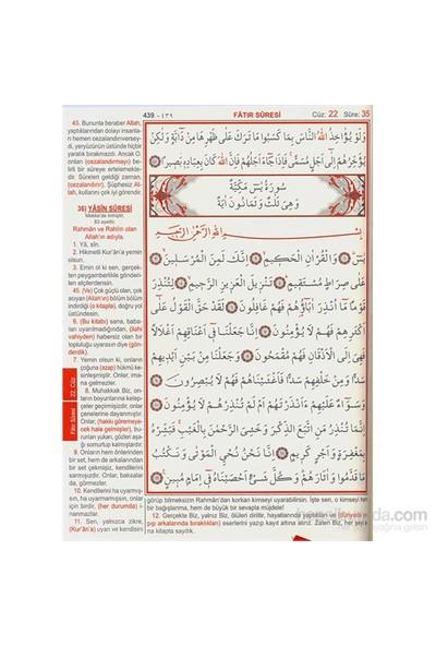 Kur'An-I Kerim Ve Yüce Meali (Rahle Boy)-Elmalılı Muhammed Hamdi Yazır