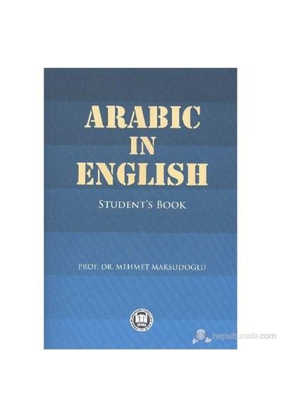 Arabic İn English-Mehmet Maksudoğlu