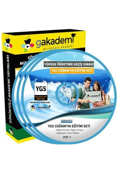 Görüntülü Akademi Ygs Coğrafya Konu Anlatımı Ve Soru Çözümlü Görüntülü Eğitim Seti 18 Dvd