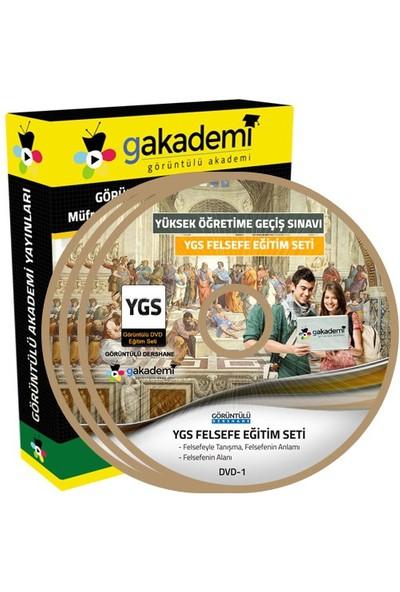 Görüntülü Akademi Ygs Felsefe Konu Anlatımı Ve Soru Çözümlü Görüntülü Eğitim Seti 11 Dvd