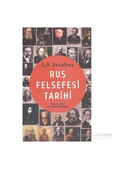 Rus Felsefesi Tarihi-Galina Petrovna Kovaleva