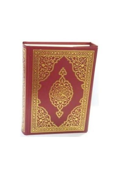 Kur`an-ı Kerim (Bilgisayar hattı, cami boy, şamua, 4 renk)