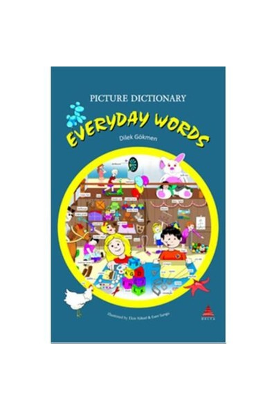 Eweryday Words : Picture Dictionary – İngilizce tematik Sözlük