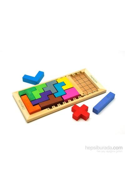 Katamino Geometrik Algılama Classic Akıl Oyunu
