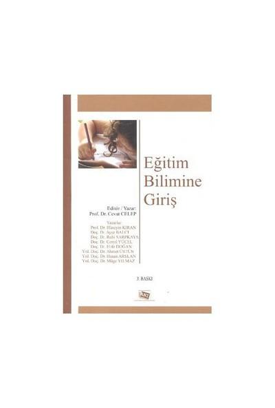 Eğitim Bilimine Giriş-Ahmet Üstün