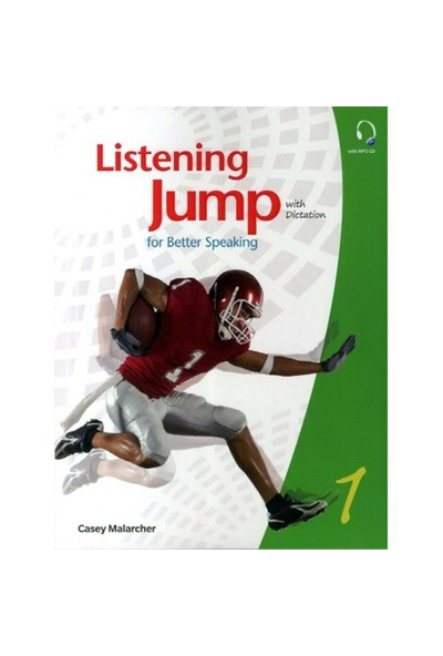 Listening Jump for Beter Speaking 1 with Dictation +MP3 CD - Casey Malarcher