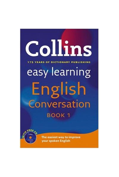 Collins Easy Learning English Conversation Book 1 +CD