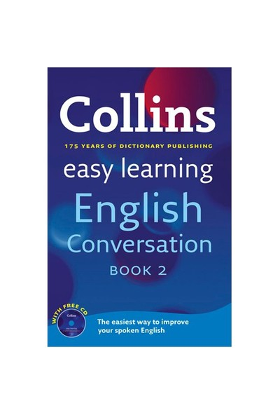 Collins Easy Learning English Conversation Book 2 +CD