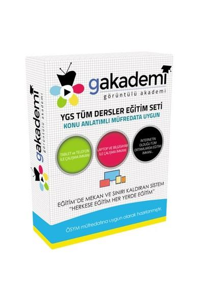 Görüntülü Akademi Ygs Görüntülü Eğitim Seti Tüm Dersler 133 Dvd Ve Kitap