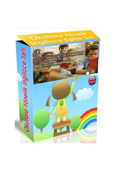 Okullara Yönelik İngilizce Görüntülü DVD Seti (10 DVD)