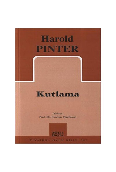 Kutlama - Harold Pinter