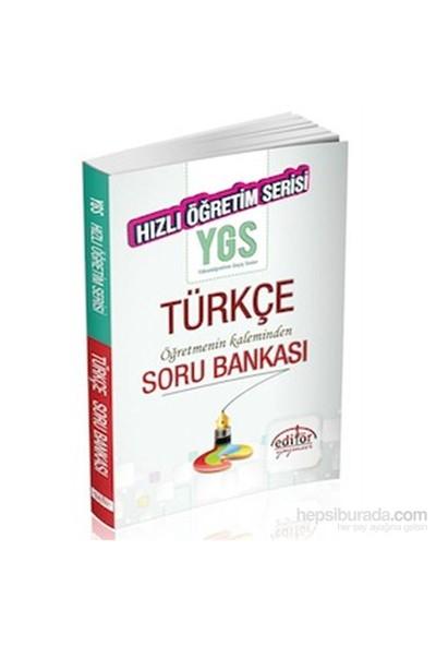 Editör Ygs Hızlı Öğretim Türkçe Öğretmenin Kaleminden Soru Bankası 2014-Kolektif