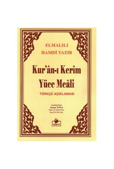 Kuran-ı Kerim Meali Metinsiz Cep boy - Elmalılı Muhammed Hamdi Yazır