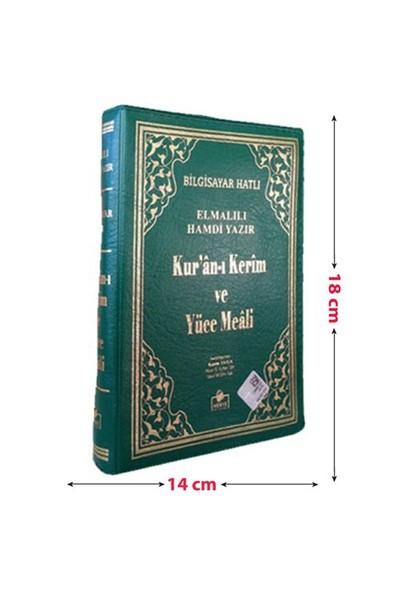 Kur'An-I Kerim Ve Yüce Meali Bilgisayar Hatlı (Çanta Boy Fermuarlı Kılıf)