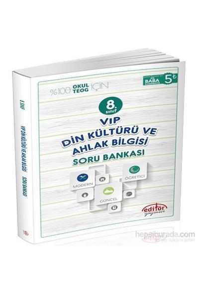 8. Sınıf VİP Din Kültürü Ve Ahlak Bilgisi Soru Bankası - Önder Poyaz