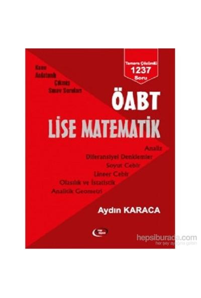 Öabt Lise Matematik-Aydın Karaca