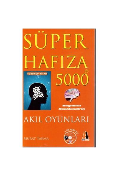 Süper Hafıza 5000 Turuncu Kitap (Cd'li) - Akıl Oyunları - Murat Takma