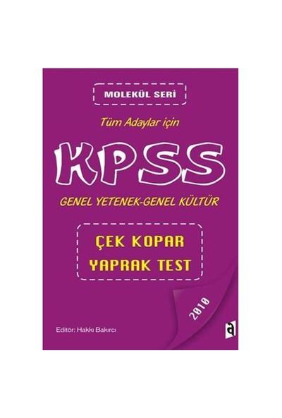 Asil Molekül Seri Kpss Genel Yetenek Genel Kültür Çek Kopar Yaprak Test 2010 (Tüm Adaylar)