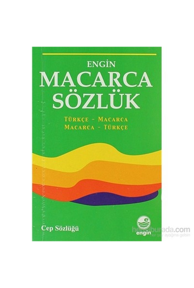 Macarca Sözlük (Cep Sözlüğü)-Kolektif