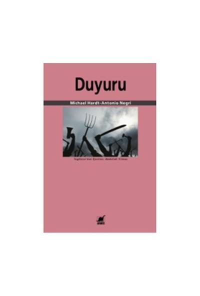 Duyuru-Michael Hardt