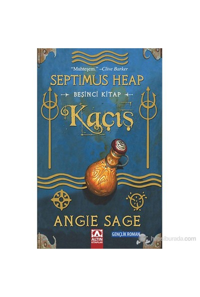 Septimus Heap: Kaçış (Beşinci Kitap)-Angie Sage
