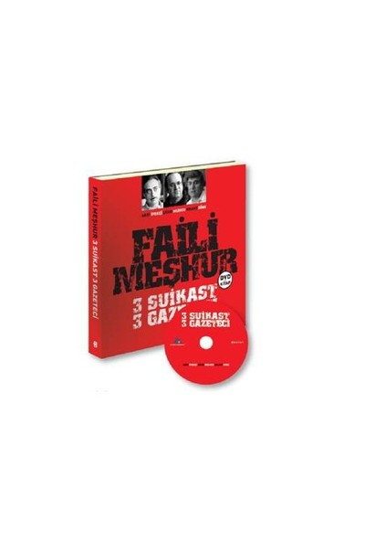 Faili Meşhur 3 Suikast 3 Gazeteci (Kitap+Dvd)-Kolektif