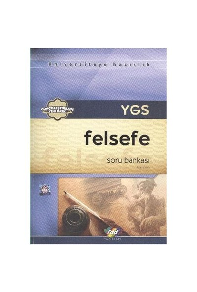 FDD YGS Felsefe Grubu Soru Bankası