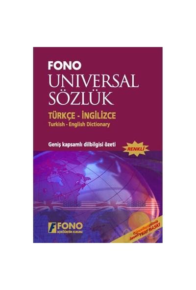 Fono Türkçe/ingilizce Universal Sözlük