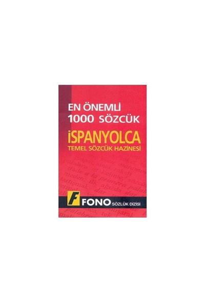Fono En Önemli 1000 Sözcük - İspanyolca Temel Sözcük Hazinesi