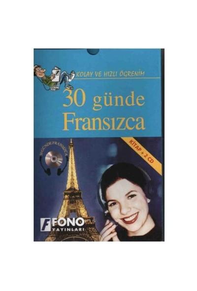Fono 30 Günde Fransızca (kitap + 2 Cd)
