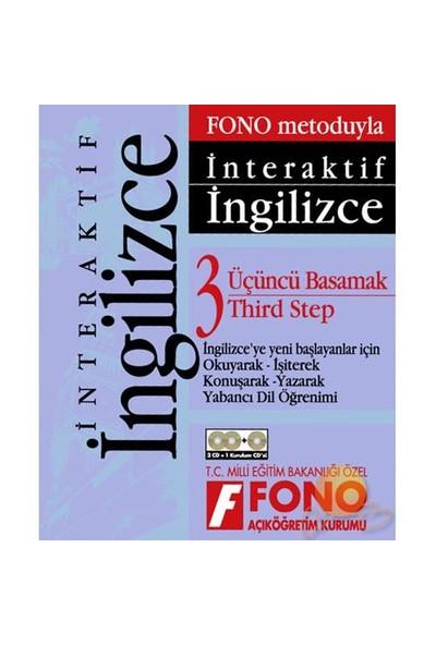 FONO İNTERAKTİF İNGİLİZCE 3. BASAMAK (2+1 CD)