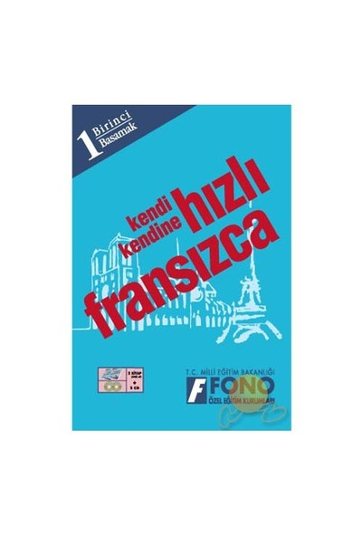FONO HIZLI FRANSIZCA 1. BASAMAK (2 KİTAP + 2 CD)