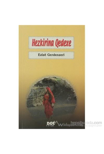 Hezkirina Qedexe-Ezize Gerdenzeri