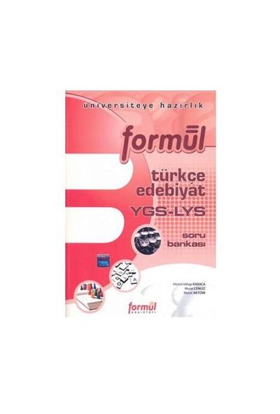 Formül Ygs-Lys Türkçe - Edebiyat Soru Bankası