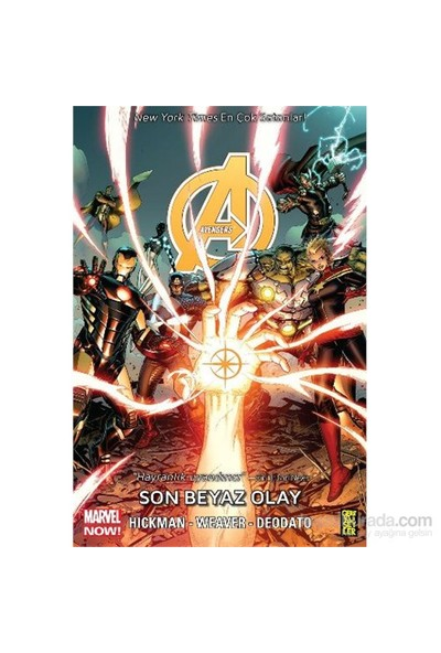 Avengers 2 -Son Beyaz Olay - Jonathan Hickman