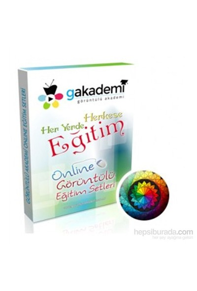 YGS Geometri Online Görüntülü Eğitim Seti